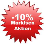 -10% Markisen Aktion